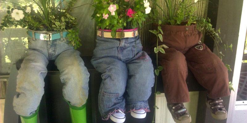 Upcycling garden ideas