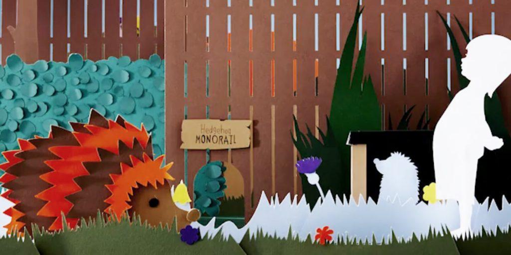 Hedgehog friendly garden