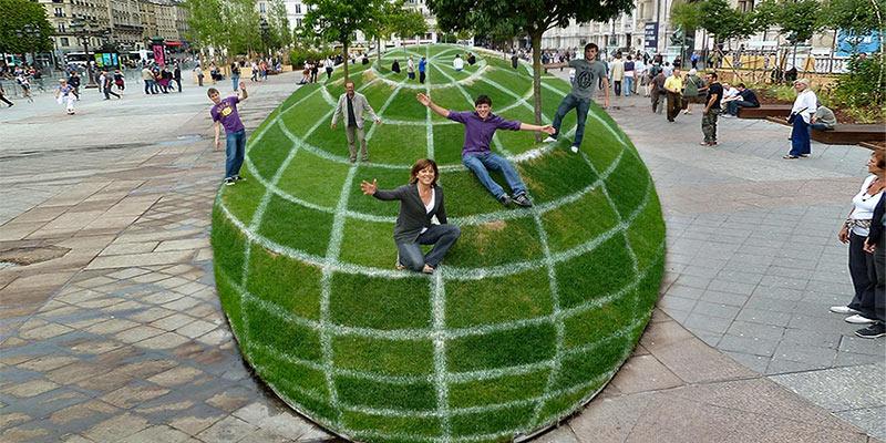 Optical illusion park
