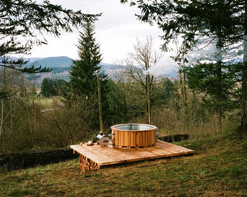 Cinder Cone hot tub