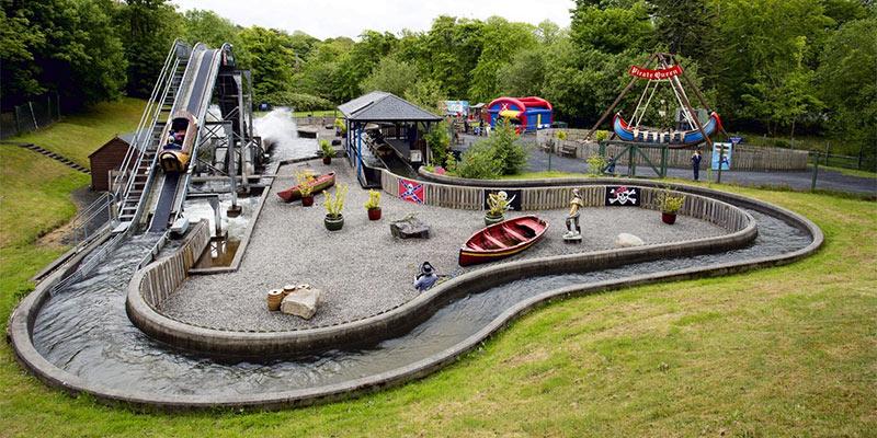 Garden theme park