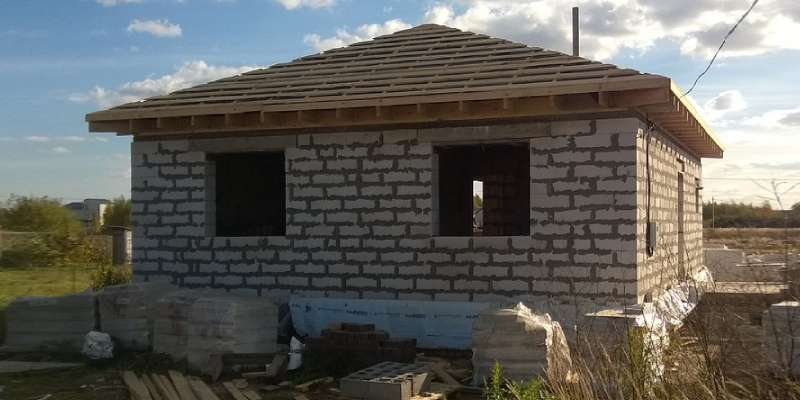 building a new house